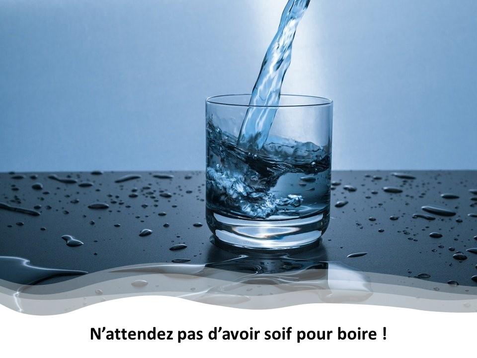 La soif, une sensation vitale